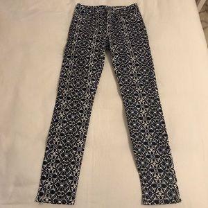 Zara printed jeans NW/OT